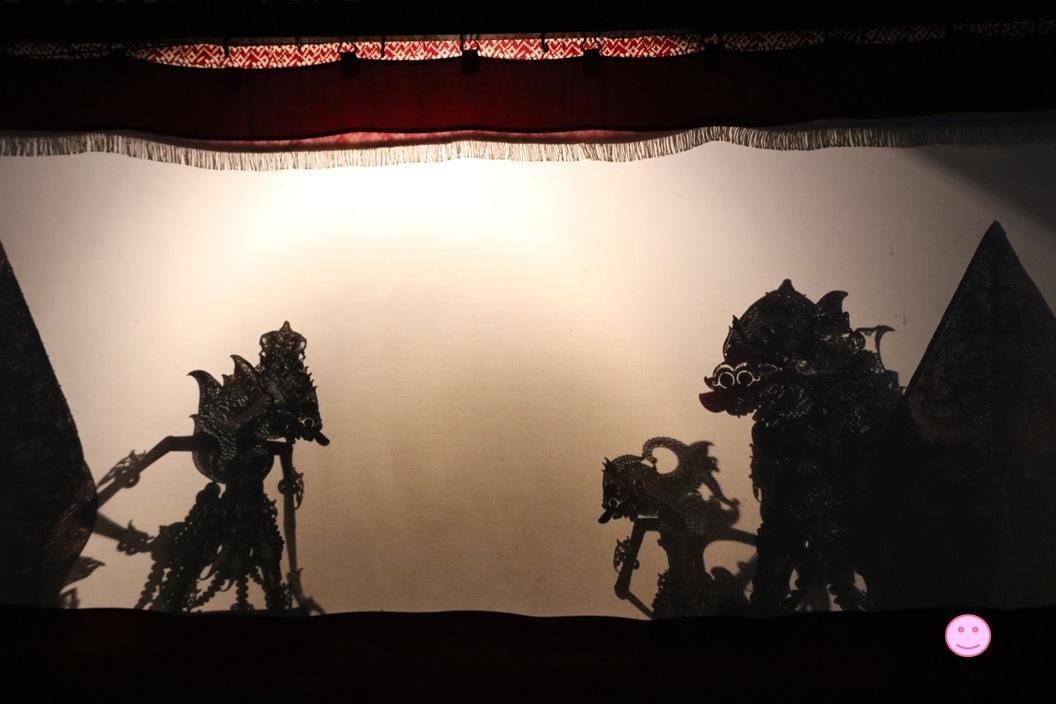 ソノブドヨ博物館のワヤン・クリッ上演